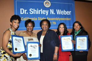 Assemblymember Dr. Shirley Weber hosts Inaugural Salute to Women Leaders in the 79th District