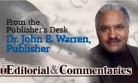 Dr Warren Editorial