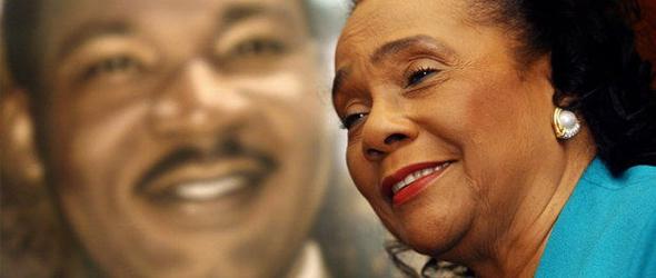 The late Coretta Scott King, widow of slain civil-rights leader Martin Luther King Jr. (Associated Press)