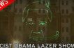 Russian Laser Show Wishes Banana Eating Obama a Happy Birthday