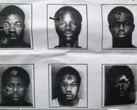 Florida police use images of black men for target practice