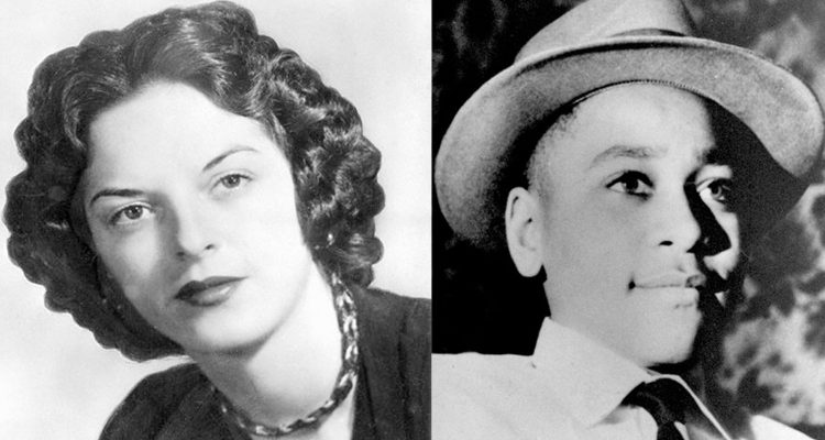 Who did emmett till whistled at