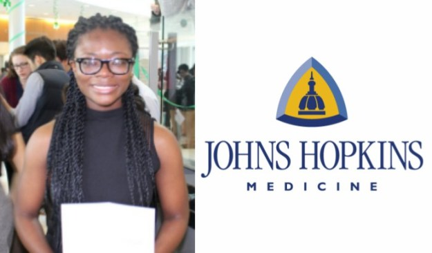 Johns Hopkins admits its first black female neurosurgeon