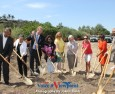 Community Celebrates the  Groundbreaking of the Charles Lewis Memorial Park